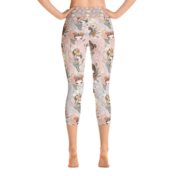 Fall Fairy Yoga Capri Leggings - Mermaids and Minis