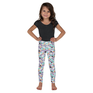 Glitter Mermaid Kid's Leggings - Mermaids and Minis