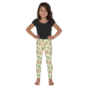 Dino Time Kid's Leggings - Mermaids and Minis