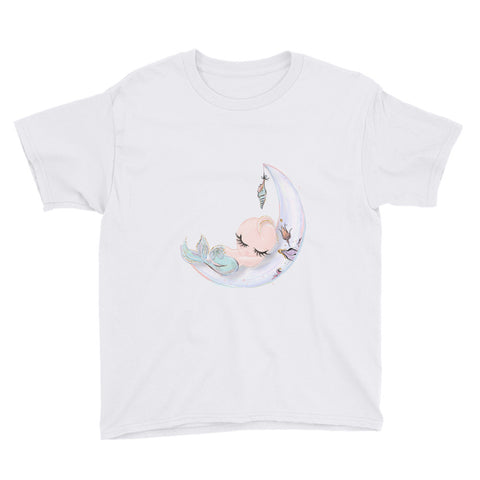 Baby Elinore Mermaid Youth Short Sleeve T-Shirt - Mermaids and Minis