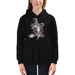 Halloween Witch Kids Hoodie - Mermaids and Minis