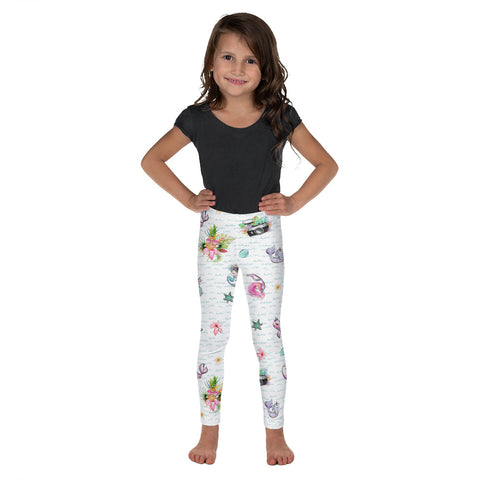 The Photographer & Mermaid Aloha Light Kid's Leggings