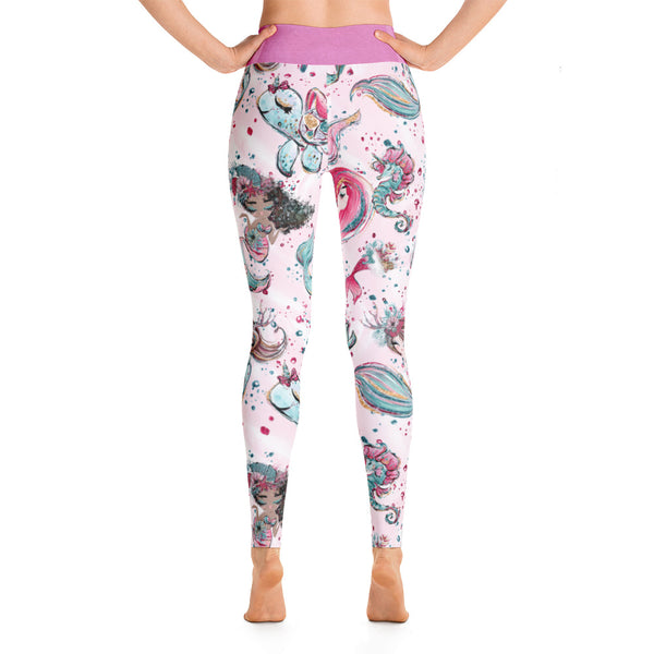 Under The Sea Yoga Leggings