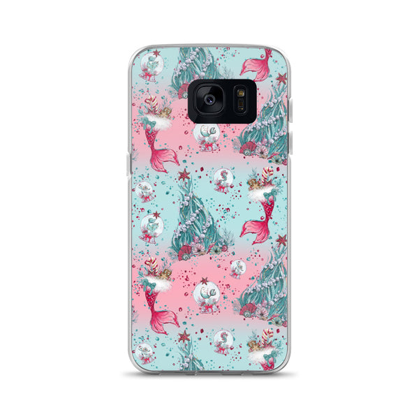 Holiday Mermaid Samsung Case - Mermaids and Minis