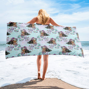 Ella Mermaid Towel - Mermaids and Minis