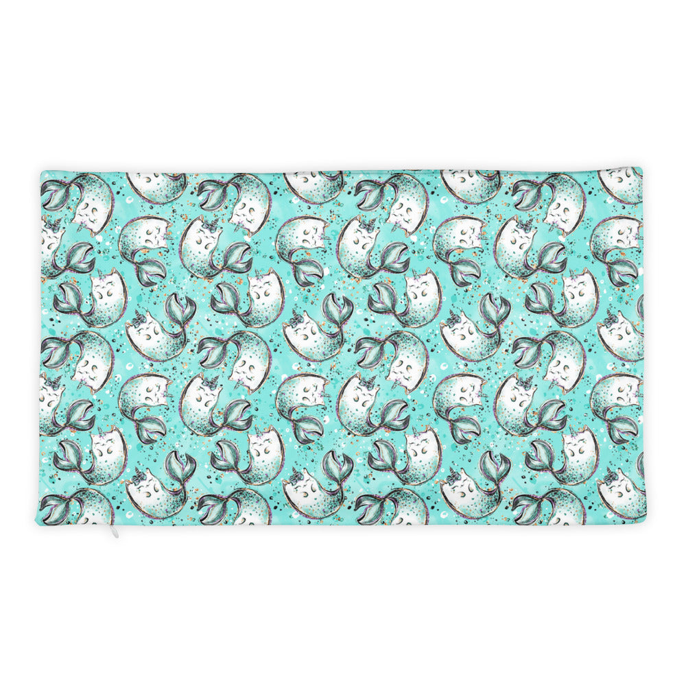 Purrr Kitty Mermaid Pillow Case only - Mermaids and Minis