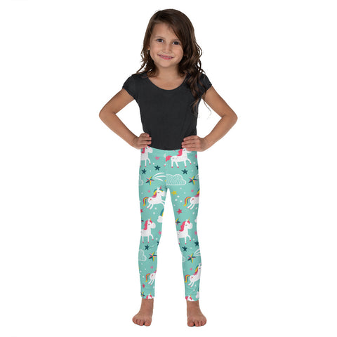Fun Unicorn Kid's Leggings - Mermaids and Minis