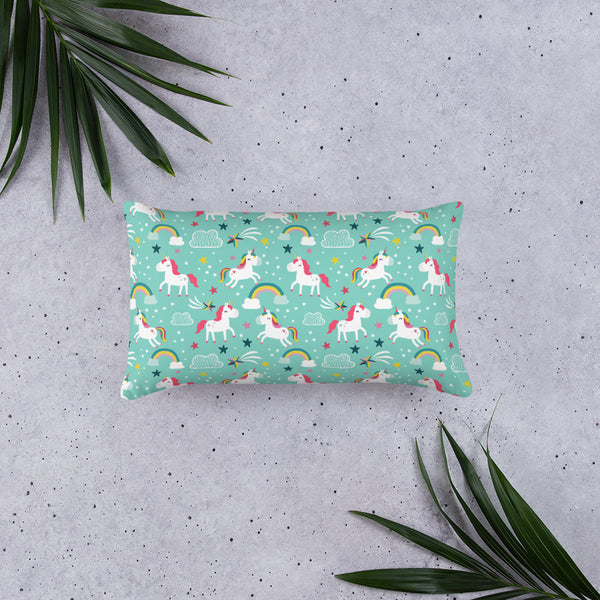 Fun Unicorn Basic Pillow - Mermaids and Minis