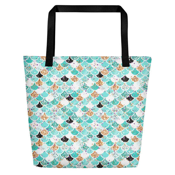 Mermaid Scale Beach Bag - Mermaids and Minis
