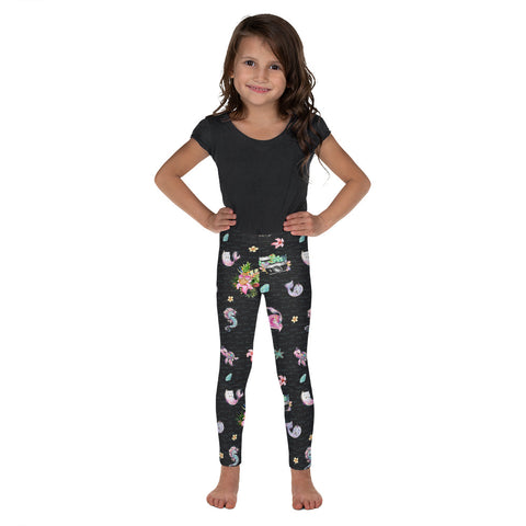 The Photographer & Mermaid Aloha Kid's Leggings