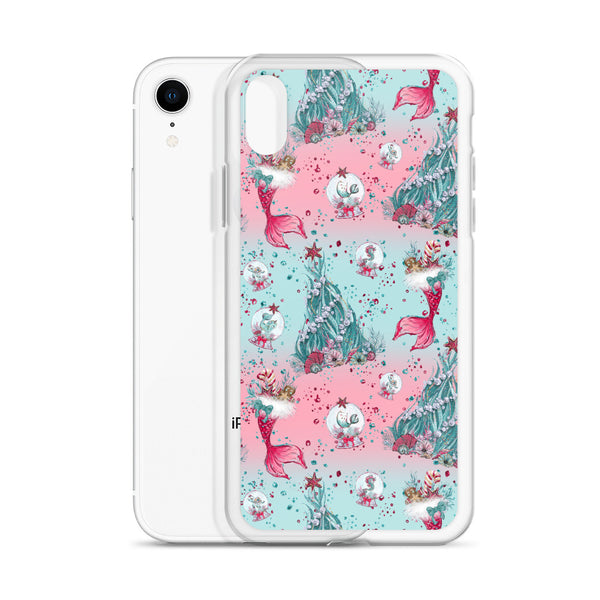 Holiday Mermaid iPhone Case - Mermaids and Minis