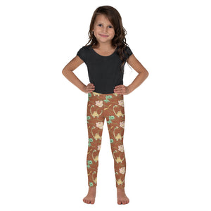 Prehistoric Dinosaurs Kid's Leggings - Mermaids and Minis