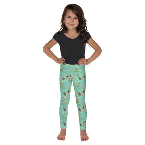 Prehistoric Kid - Kid's Leggings - Mermaids and Minis