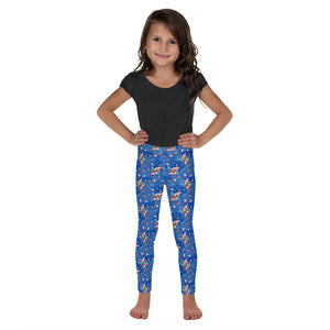 Summer Fun Pinwheel Kid's Leggings - Mermaids and Minis