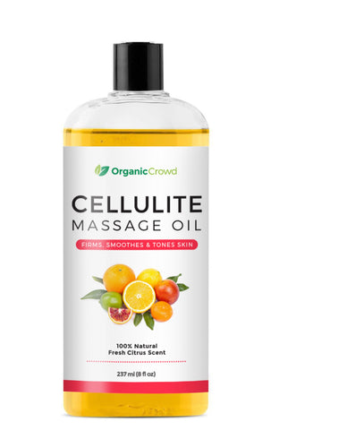 Cellulite Massage Oil- 100% Natural