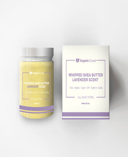 Whipped Shea Butter with Lavender scent - 100% Natural