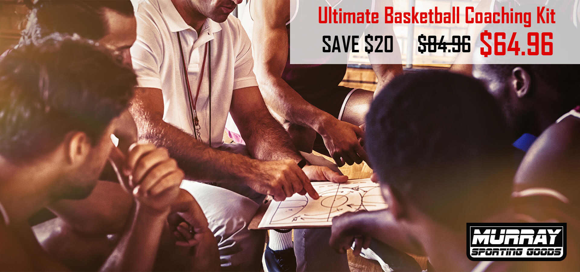Murray Sporting Goods - Ultimate Basketball Coaching Kit