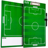 Elite Dry Erase Soccer Coaches Clipboard - Side by Side