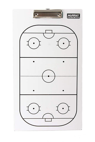 Murray Sporting Goods Dry Erase Hockey Coaches Clipboard - Front