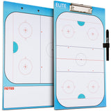 Elite Dry Erase Hockey Coaches Clipboard - Side by Side