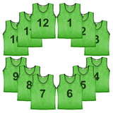 Murray Sporting Goods Nylon Mesh Scrimmage Practice Pinnies- Set of 12