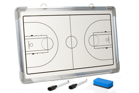 Murray Sporting Goods Dry Erase Magnetic Basketball Coaches Board - Front