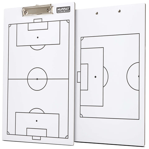 Murray Sporting Goods Dry Erase Soccer Coaches Clipboard