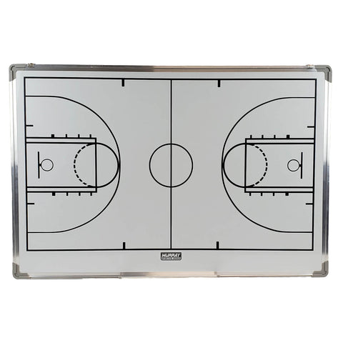 Murray Sporting Goods Dry Erase Locker Room Basketball Coaches Board - Front