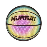 Murray Sporting Goods Reflective Holographic Basketball - Front Flash