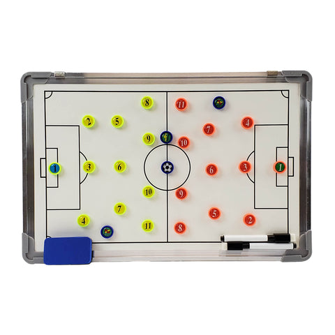 Murray Sporting Goods Dry Erase Magnetic Soccer Coaches Board - Front