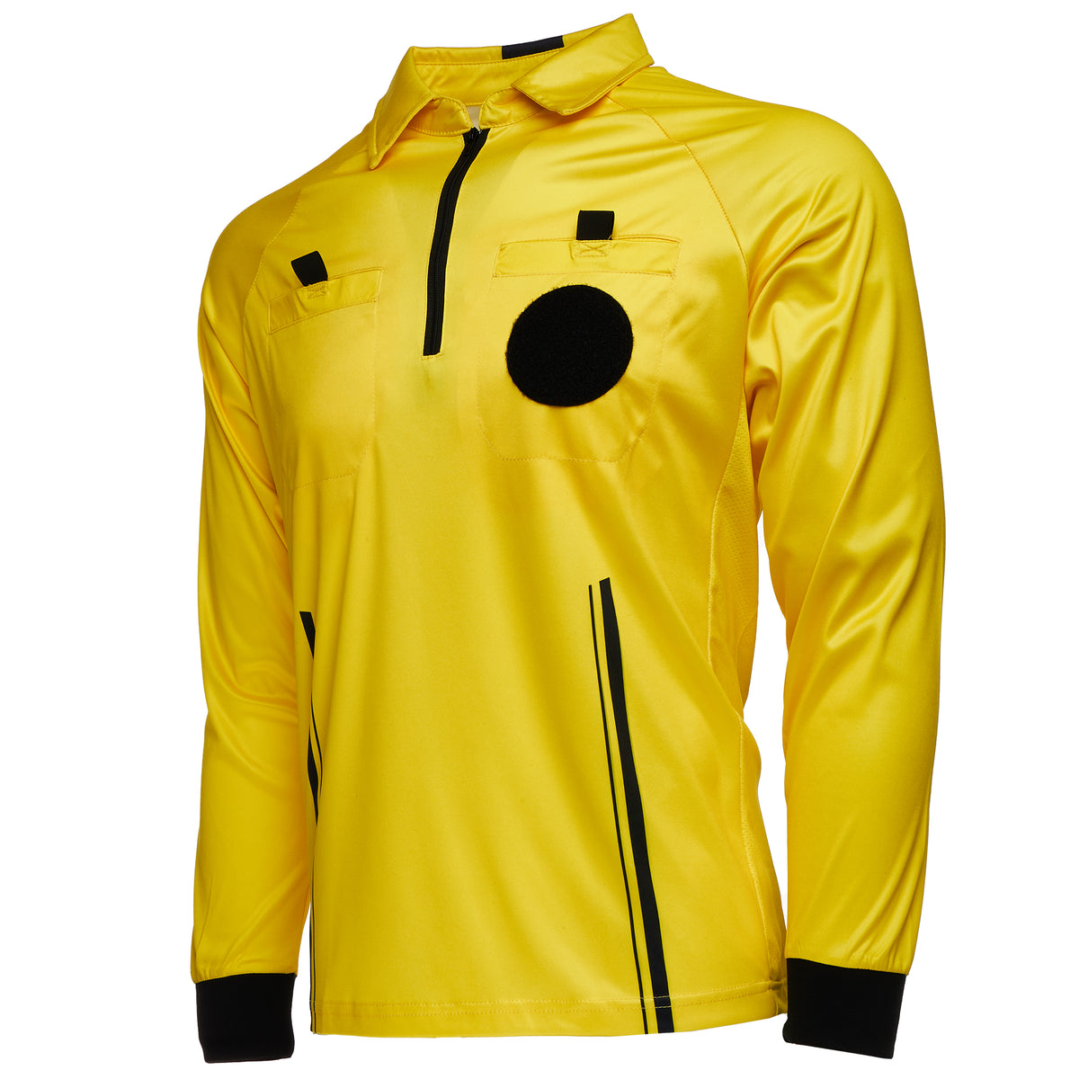 Soccer Football Murray Sporting Goods Mens Official Pro-Style Long Sleeve Collared Referee Shirt Officiating Jersey for Basketball