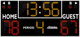 Basketball LED Scoreboard - Model 2234 | Black | Murray Sporting Goods