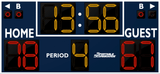 Basketball LED Scoreboard - Model 2234 | Navy | Murray Sporting Goods