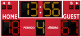 Basketball LED Scoreboard - Model 2234 | Red | Murray Sporting Goods