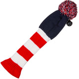 Stripe Golf USA Knitted Golf Club Head Cover for Driver/Fairway Woods - Back