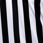 Murray Sporting Goods Women's V-Neck Referee Shirt - Black and White Stripes