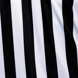 Murray Sporting Goods Men's Football Collared Referee Shirt - Black and White Stripes