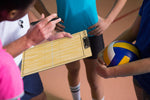 Elite Dry Erase Volleyball Coaches Clipboard - Volleyball Coaches Huddle