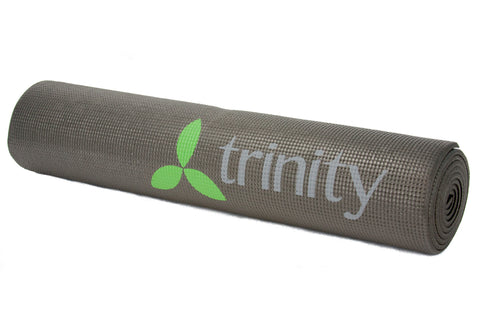 Black - Trinity Yoga Exercise Mat | Murray Sporting Goods