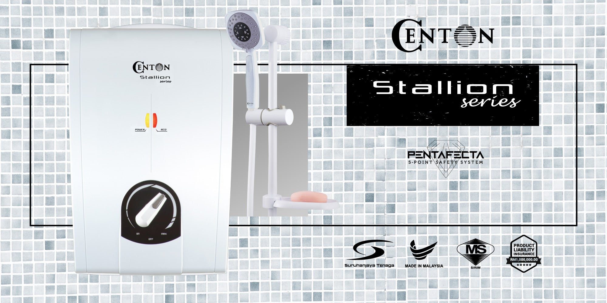 CENTON Stallion Instant Water Heater