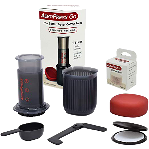 AEROBIE Aeropress Go Travel Coffee Press | Complete Set