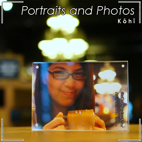 KOHI Frameless Crystal Photo Frame | Usages | Portraits and Photos