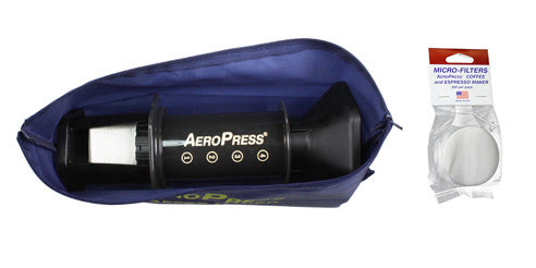 AEROBIE Aeropress Coffee Maker | *Tote Bag and 350 micro-filters