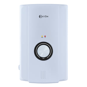 CENTON EcoSerene AC Instant Shower Water Heater | White