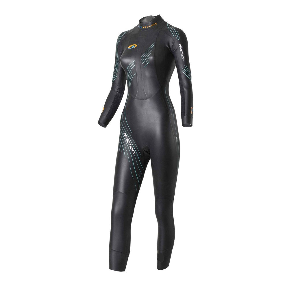 Traje de neopreno Reaction Mujer - Blue Seventy - Aqua Zone