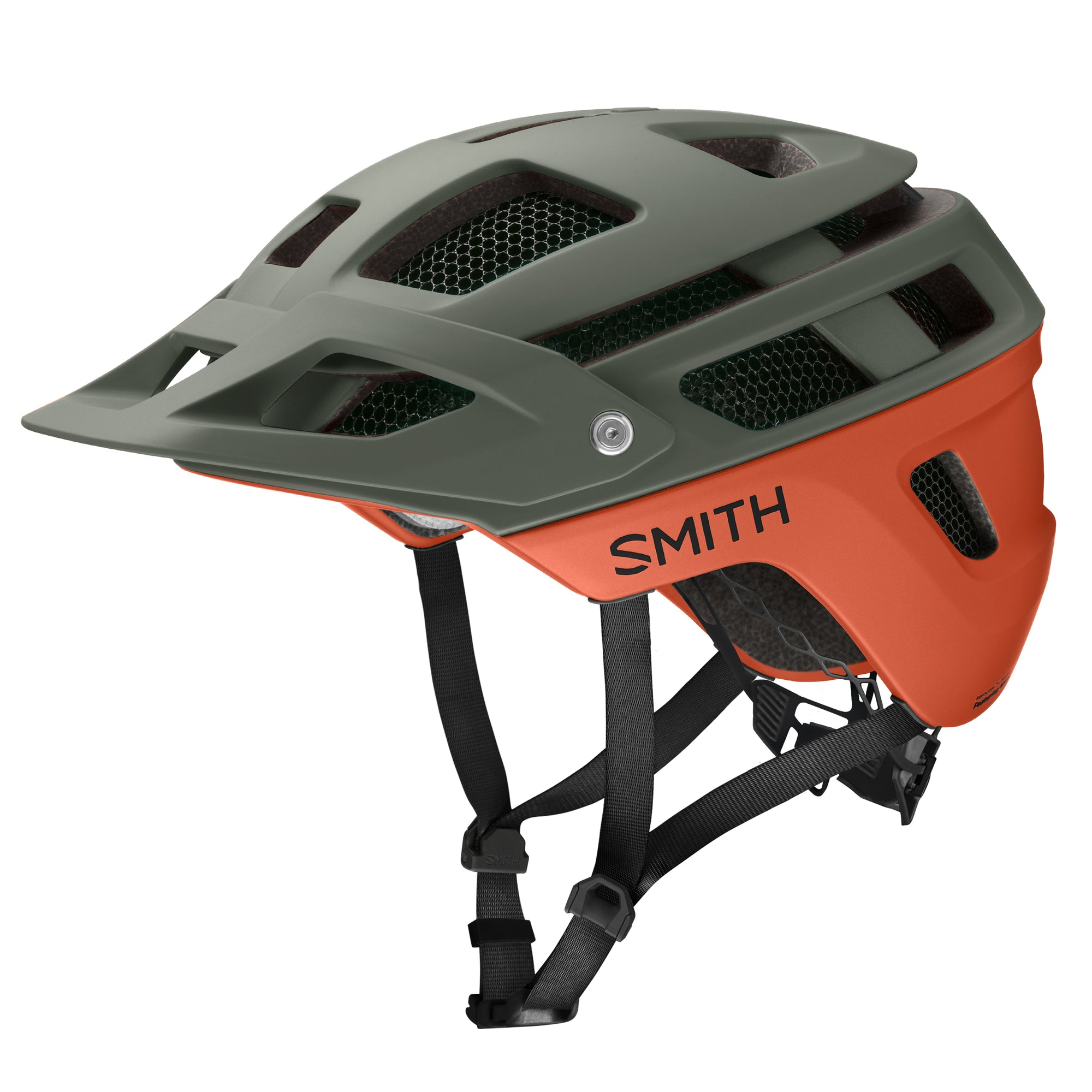 Casco Smith Forefront 2 Mips Red Rk