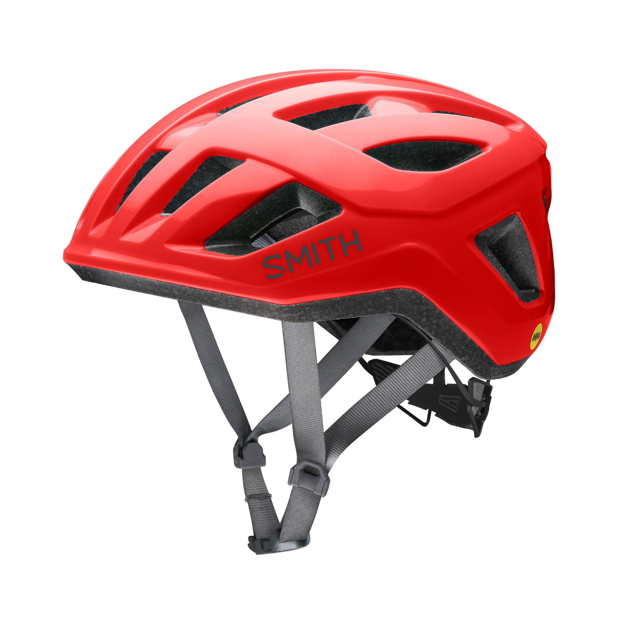 Casco Smith Signal Mips Rojo M