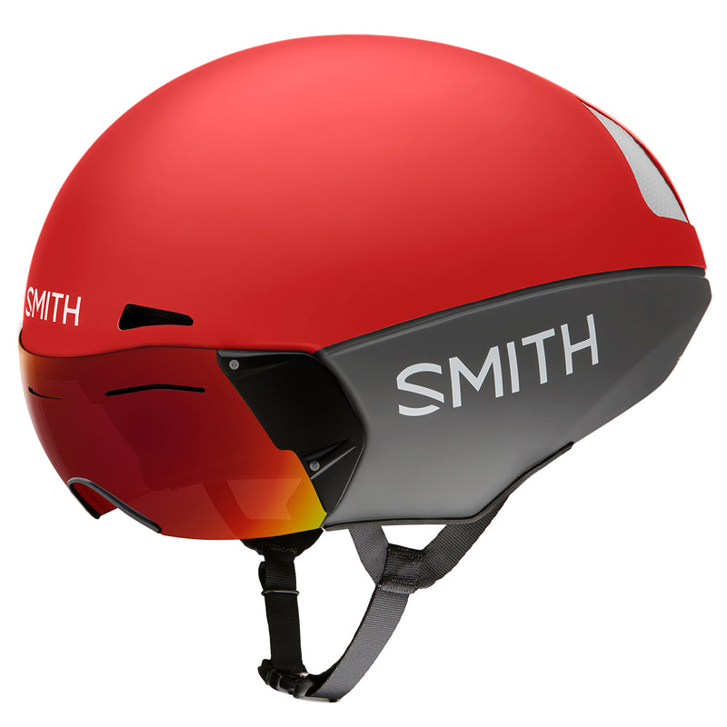 Casco Smith Podium TT MIPS Rojo