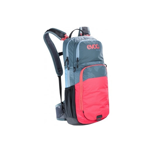 Mochila Evoc Cc 16l+2l Bladder Slate/Red