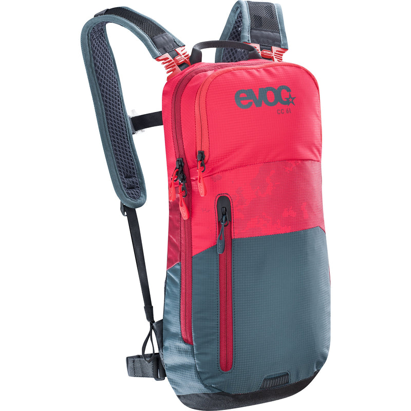 Mochila Evoc Cc 6l+2l Bladder Red/Slate